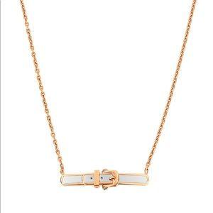 Henri bendel buckle ring and necklace set